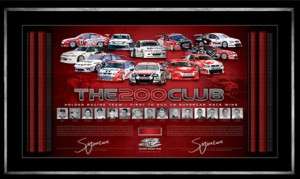 HRT 200 club lithograph