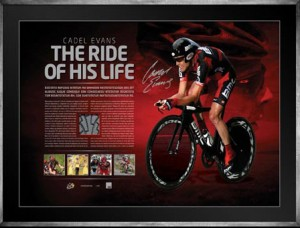 Ride of his life signed lithograph