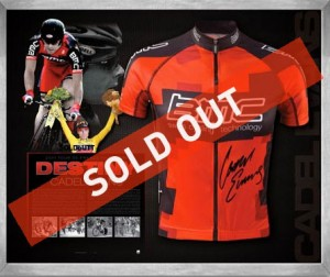 Cadel Evans BMC jersey