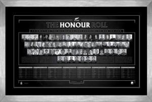 All Blacks Honour Roll lithograph