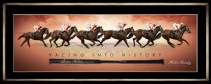 Black Caviar Racing into history