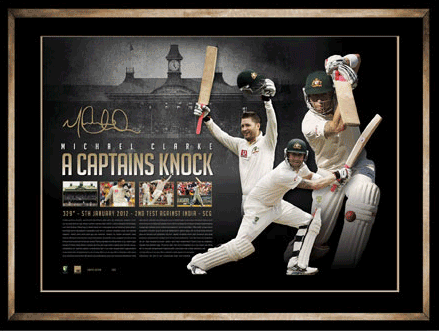 a-tag authenticated michael clarke