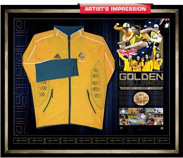 signed olympic jacket